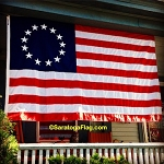 BETSY ROSS 13 Star USA Flag - 8x12FT