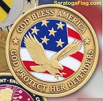 .Custom Challenge Coins- Made in USA