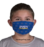 1) Custom Branded FACE MASK COVERING- Child Size