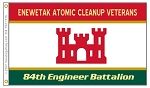 Enewetak Atomic Cleanup Veterans Flag-Army Engineers