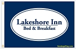 ..Lakeshore Inn- Nylon Flags 4x6ft