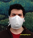 2b) SAFETY BARRIER FACE MASKS - Made in USA