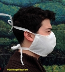 2a) SAFETY BARRIER FACE MASKS - Made in USA -PPE- BULK QUANTITY