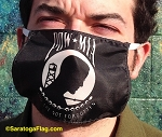 4e) Novelty FACE MASKS -POW-MIA Flag