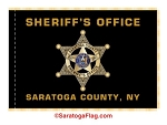 Saratoga County Sheriff Flag