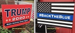 LAWN SIGNS- TRUMP BUNDLE- 12 assorted signs per case