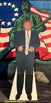 ...TRUMP- Life Size Cardboard Cut-Out -Made in USA