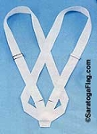 Carry Belt - Flagpole Harness - Cloth -Double Strap