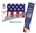 Economy USA FLAG Home Kit for Fundraisers