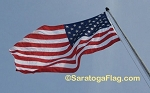 USA FLAG - Nylon- Embroidered Stars-15x25ft