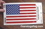 Stickers: USA FLAG DECALS