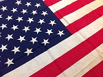 50 Star USA Flag- 3x5ft COTTON- Authentic - Vintage-SOLD