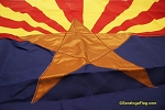 ARIZONA FLAG- 3x5ft Cotton-Poly - Vintage
