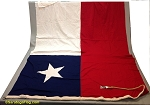 CHILE- 6x9ft Cotton Flag Vintage
