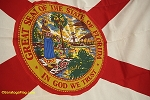 FLORIDA FLAG- 5x8ft Cotton-Poly - Vintage