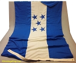 HONDURAS- 5x9ft Flag Wool Vintage