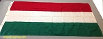 HUNGARY- 3x5ft Cotton Flag - Vintage