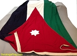 JORDAN- 5x10ft Flag Cotton Vintage