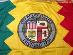 LOS ANGELES CITY FLAG- 5x8ft NYLON Vintage