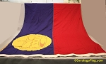 LIECHTENSTEIN - 6x9ft Flag WOOL Vintage