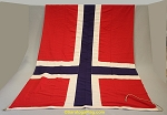 NORWAY FLAG- 4x7ft Cotton - Vintage