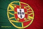 PORTUGAL- 6x9ft Flag Cotton Vintage
