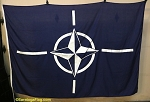 NATO- 5x8ft Flag - Vintage-SOLD