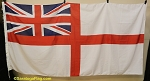 UNITED KINGDOM-British White Ensign- 5x9FT- New VINTAGE