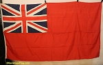 BRITISH RED ENSIGN- 5x9FT- Authentic VINTAGE UK