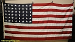 48 Star USA Flag- 5x9ft COTTON- Authentic - VINTAGE
