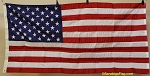 50 Star USA FLAG- Government Spec- Nylon- VINTAGE