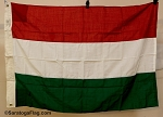 HUNGARY Flag- 3x4ft VINTAGE