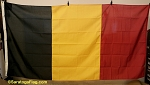 BELGIUM- 5x9ft Flag-poly- Vintage