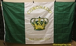 CORONADO CITY FLAG- 6x10ft -Vintage