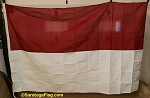 INDONESIA- 6x9ft Flag- Vintage