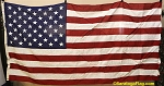 50 Star USA Flag- 5x9.5ft COTTON- Authentic - Vintage -SOLD