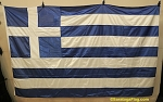GREECE- 5x8ft  Flag - VINTAGE