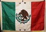 MEXICO- 4x6ft Nylon Flag - Used VINTAGE