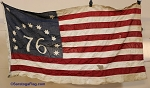 Bennington 1776 Flag- Used- VINTAGE - SOLD