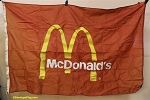McDonalds Flag - 4x6FT-  Used-VINTAGE