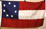 STARS & BARS- First Confederate Flag- VINTAGE