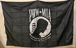 POW-MIA FLAG- 4x6ft- VINTAGE