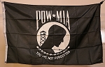 POW-MIA FLAG- 3x5ft- VINTAGE