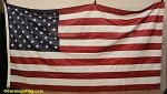 50 Star USA FLAG - 5x8ft- Polyester - VINTAGE