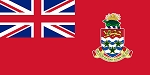 CAYMAN ISLANDS FLAG - RED