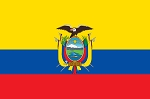 ECUADOR FLAG with seal