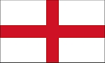 ENGLAND FLAG - SAINT GEORGE'S CROSS
