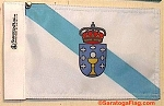 Motorcycle Flag- Galicia Spain