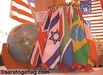 INTERNATIONAL FLAGS - 12x18inch