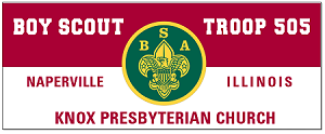 .Custom PARADE BANNER- Boy Scouts